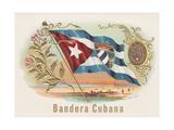 Bandera Cubana Giclee Print by  Art Of The Cigar