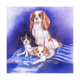 Mom and the Boys Giclee Print by Barbara Keith