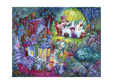 Alice and the Hatter Giclee Print by Bill Bell