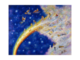 Rainbow Bridge Giclee Print by Bill Bell