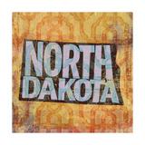 North Dakota Giclee Print by  Art Licensing Studio