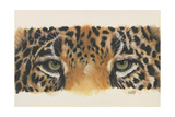 Eye-Catching Jaguar Giclee Print by Barbara Keith