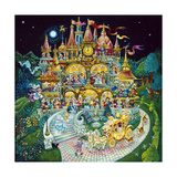 Cinderella Giclee Print by Bill Bell