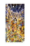 Showtime on Broadway Giclee Print by Bill Bell