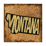 Montana Giclee Print by  Art Licensing Studio