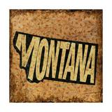 Montana Giclee Print by  Art Licensing Studio