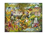 Alice in Wonderland Giclee Print by Bill Bell