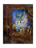 Through the Looking Glass Giclee Print by Bill Bell
