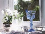 Il Calice Blu Giclee Print by Danka Weitzen