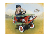 1926 Steelcraft By-Plane Giclee Print by David Lindsley