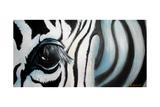 Zebra Giclee Print by Cherie Roe Dirksen
