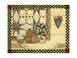 Heart and Quilt Reproduction procédé giclée par Debbie McMaster