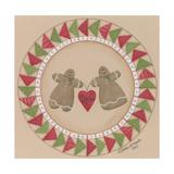 Gingerbread Pair Giclee Print by Debbie McMaster