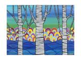 Lake View Giclee Print by Carla Bank