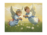 Angels Giclee Print by David Lindsley