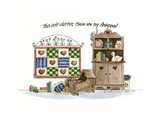 This Isn't Clutter Giclee Print by Debbie McMaster