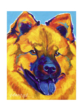 Chow Chow - Sunshine Soul Giclee Print by  Dawgart