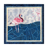 Flamingo Giclee Print by David Sheskin