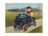 Train Giclee Print by David Lindsley