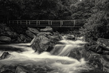 Chimney Tops Bridge 2 BW Photographic Print by Bob Rouse