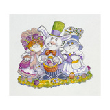 Easter Bunny Giclee Print by Bill Bell