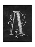 A Curly Chalk Capital Giclee Print by CJ Hughes