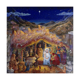 Nativity Giclee Print by Bill Bell