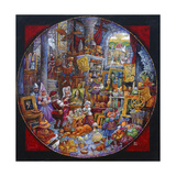 Leonardo's Masterpiece Giclee Print by Bill Bell