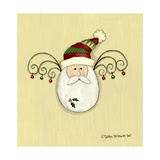 Egg Santa Giclee Print by Debbie McMaster