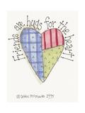 Friends are Hugs Lámina giclée por Debbie McMaster