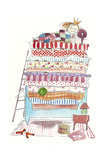Princess Pea Giclee Print by Effie Zafiropoulou