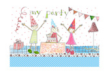 My Party Giclee Print by Effie Zafiropoulou