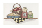 Apple Pie with Basket Giclee Print by Debbie McMaster
