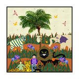Peaceable Kingdom 22 Giclee Print by David Sheskin