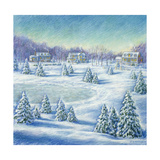 Winter's Day Giclee Print by Edgar Jerins
