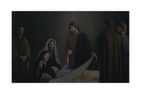 Jesus Raising the Daughter of Jairus Giclee Print by David Lindsley