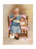 Grandma Lámina giclée por Dianne Dengel