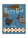 Happy Hour Giclee Print by Fiona Stokes-Gilbert