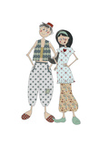 Aladin and Jasmine Giclee Print by Effie Zafiropoulou
