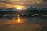 Tetons Jackson lake Photographic Print by Gordon Semmens
