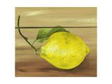 Lemon on a box Giclee Print by Gigi Begin