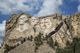 Mount Rushmore and Eagle Photographic Print by  Galloimages Online