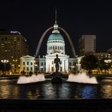 St. Louis Keiner Plaza 2 Photographic Print by  Galloimages Online