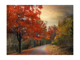 Autumn Maples Giclee Print by Jessica Jenney