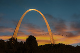 The Arch at Sunset Photographic Print by  Galloimages Online