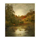 Autumn Wetlands Giclee Print by Jessica Jenney