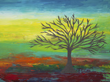 Abstract Tree 3 Giclee Print by Hilary Winfield