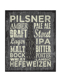 Beer Sign III Giclee Print by Erin Clark