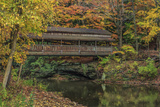 Mill Creek Covered Bridge 2 Photographic Print by  Galloimages Online
