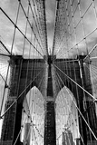 Brooklyn Bridge Approach Photographic Print by Jessica Jenney